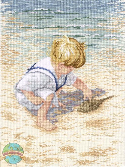 Janlynn - Boy With Horseshoe Crab