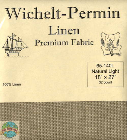 Wichelt - 32 Ct Natural Light Linen 18 x 27 in