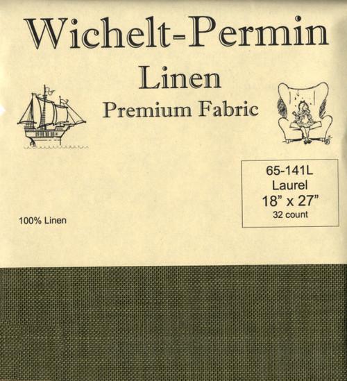 Wichelt - 32 Ct Laurel Linen 18 x 27 in