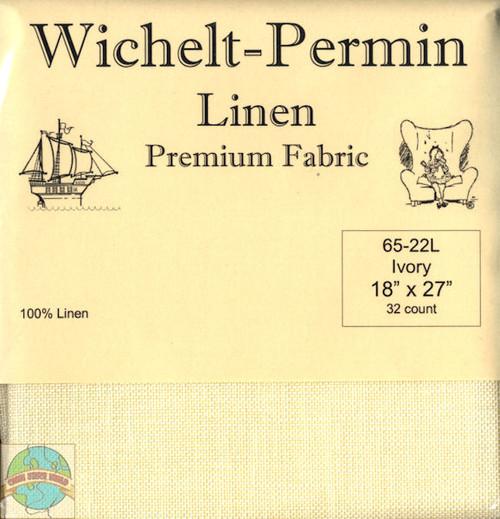 Wichelt - 32 Ct Ivory Linen 18 x 27 in