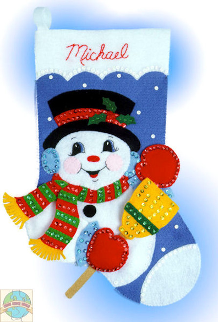 Design Works - Snowman Stocking