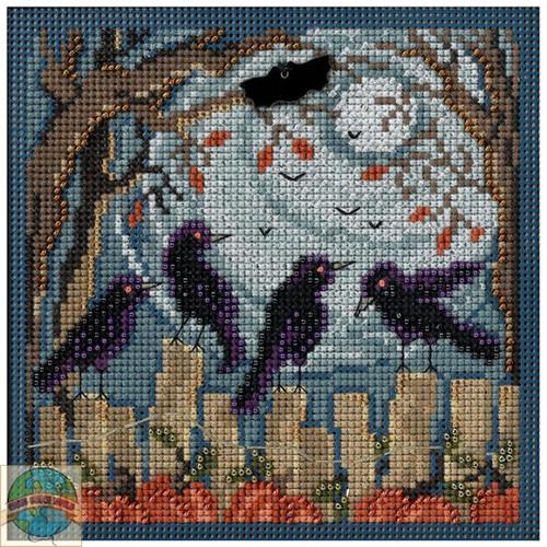 2014 Mill Hill Buttons & Beads Autumn Series - Ravens