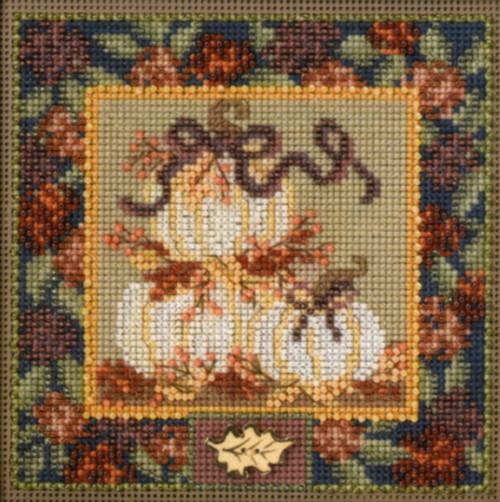 Mill Hill - White Pumpkins