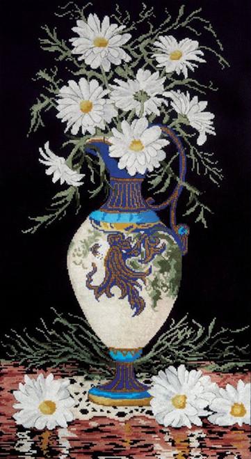 Design Works - Daisies in Vase