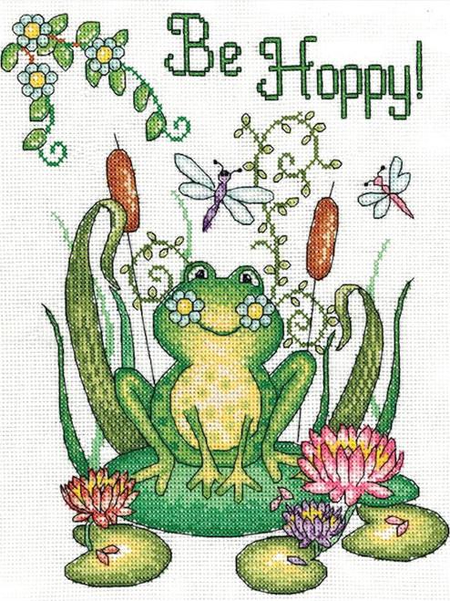 Design Works - Be Hoppy (Frog)