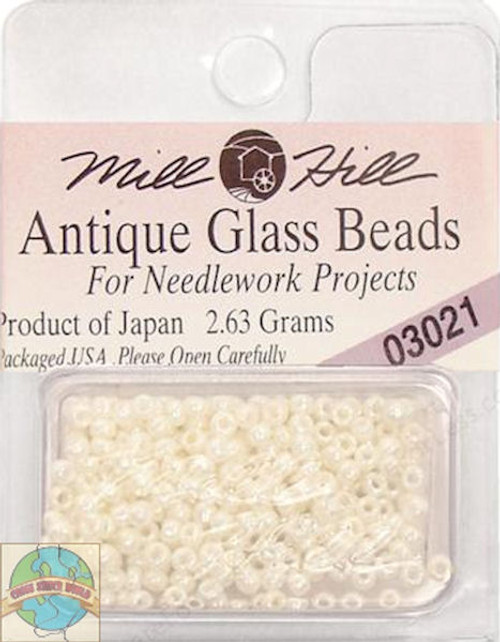 Mill Hill Antique Glass Beads 2.63g Royal Pearl #03021