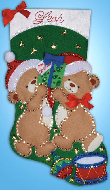 Design Works - Teddy Bear Fun Stocking