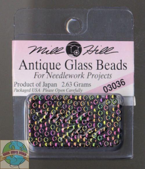 Mill Hill Antique Glass Beads 2.63g Cognac #03036