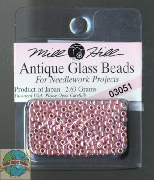 Mill Hill Antique Glass Beads 2.63g Misty #03051