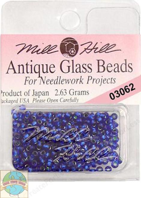 Mill Hill Antique Glass Beads 2.63g Blue Velvet #03062