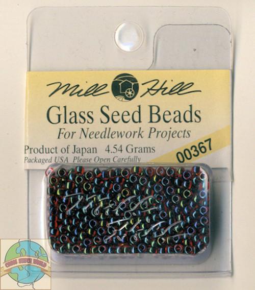 Mill Hill Glass Seed Beads 4.54g Garnet