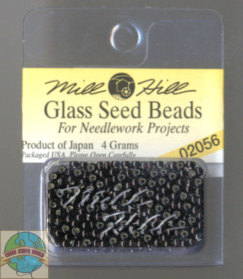 Mill Hill Glass Seed Beads 4g Sable #02056