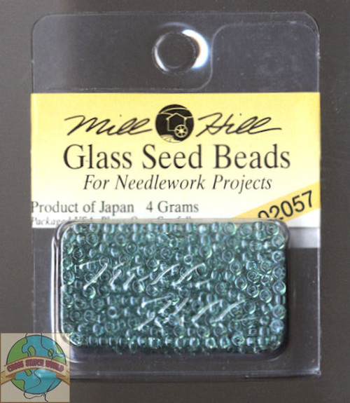 Mill Hill Glass Seed Beads 4g Crystal Sea #02057