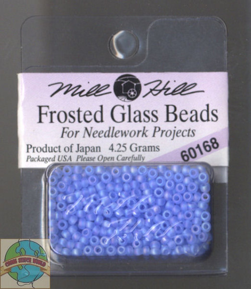 Mill Hill Frosted Glass Seed Beads 4.25g Sapphire