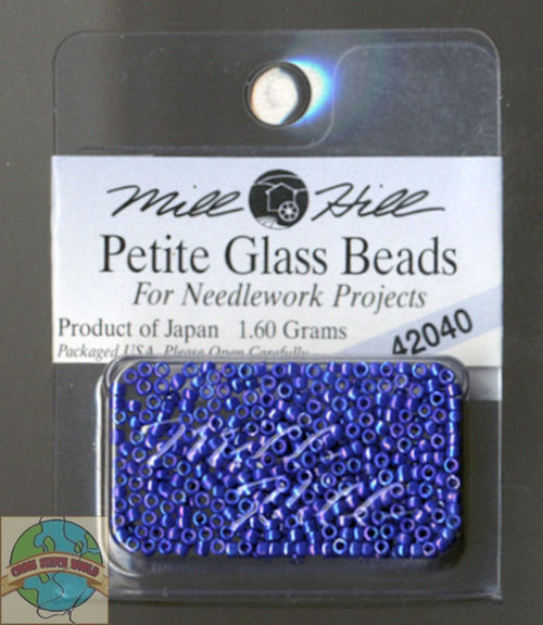 Mill Hill Petite Glass Beads 1.60g Periwinkle #42040