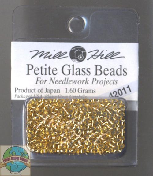 Mill Hill Petite Glass Beads 1.60g Victorian Gold #42011