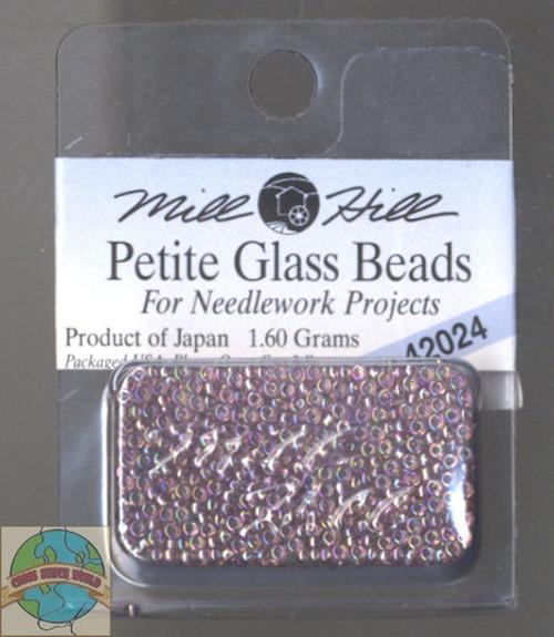 Mill Hill Petite Glass Beads 1.60g Heather Mauve #42024