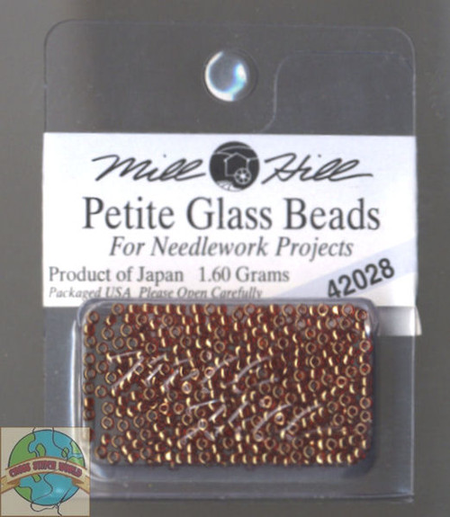 Mill Hill Petite Glass Beads 1.60g Ginger #42028