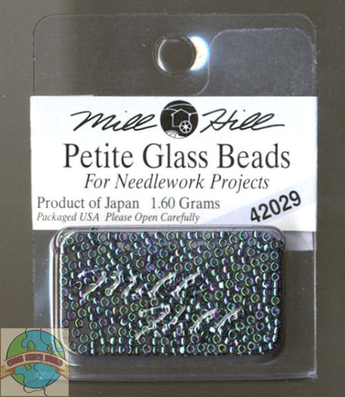 Mill Hill Petite Glass Beads 1.60g Tapestry Teal #42029