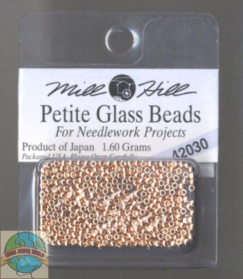 Mill Hill Petite Glass Bead 1.60g Victorian Copper #42030