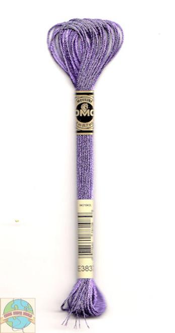 DMC Light Effects Floss - Purple Ruby #E3837