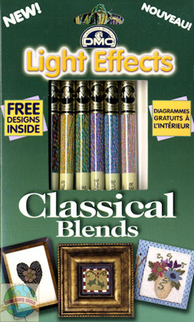 DMC - Light Effects Classical Blends Floss Set