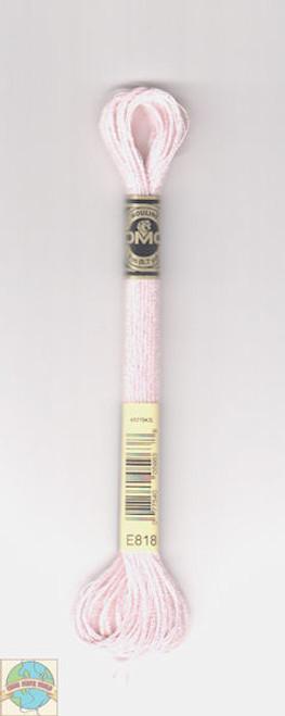 DMC Light Effects Floss - Soft Pink #E818