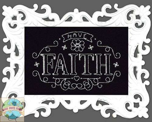 Design Works - Have Faith Chalkboard w/Frame