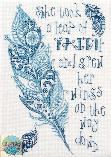 Plaid / Bucilla - Leap of Faith