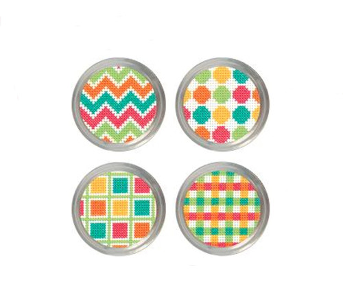 Dimensions - Patterns Jar Toppers (4)