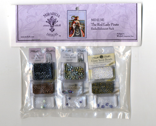 Mirabilia Embellishment Pack - The Red Pirate Lady
