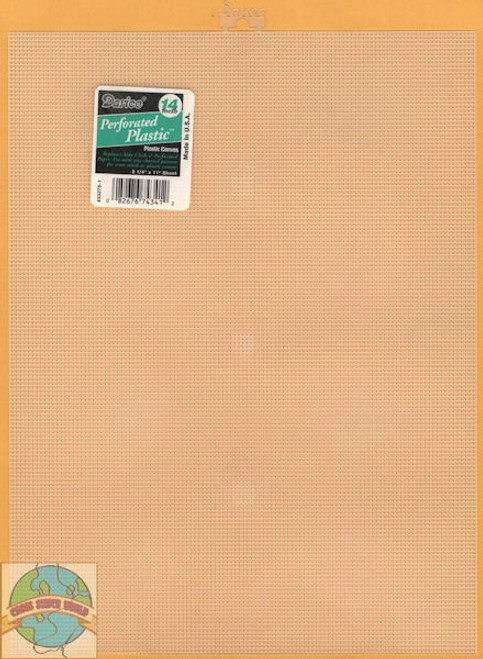 Darice - Clear Plastic Canvas 14 Count 8.25 x 11 Inches