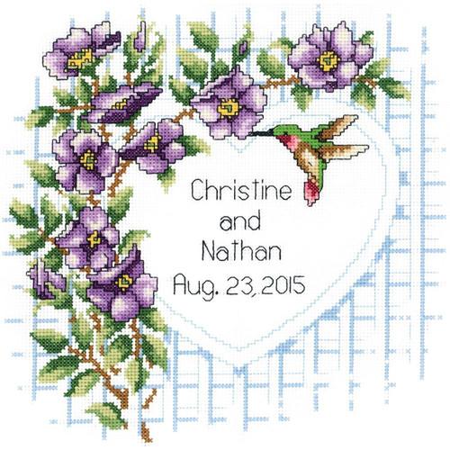 Janlynn - Garden Trellis Wedding Announcement