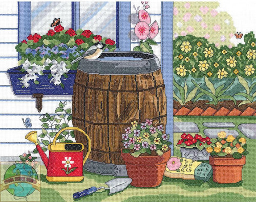 Janlynn - Rain Barrel and Window Box