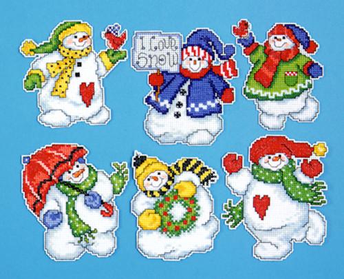 Design Works - I Love Snow Ornaments (6)