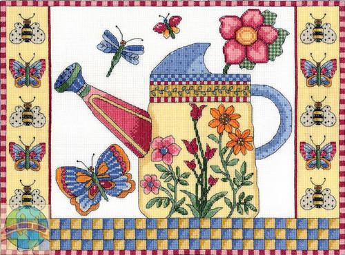 Janlynn - Butterfly Watering Can