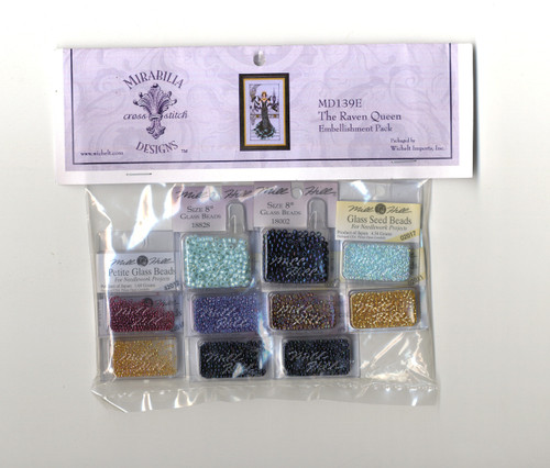 Mirabilia Embellishment Pack - The Raven Queen