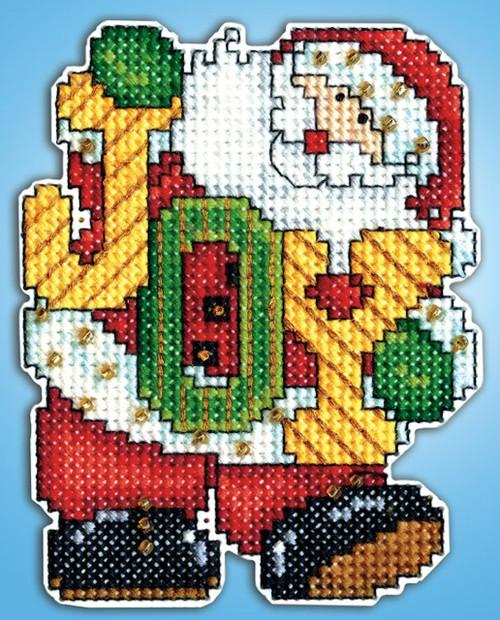 Design Works - Joy Santa Ornament