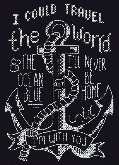Design Works - With You Anchor Chalkboard