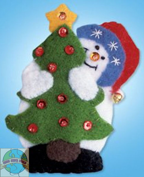 Design Works - Snowman and Tree Ornament