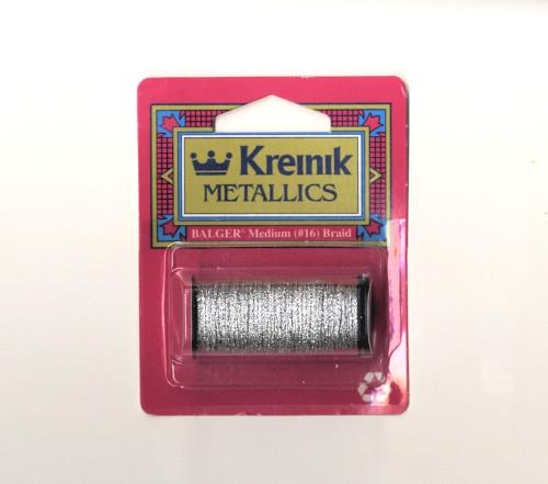 Kreinik Metallics - Medium #16 Silver #001
