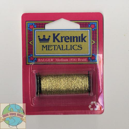 Kreinik Metallics - Medium #16 Gold #002