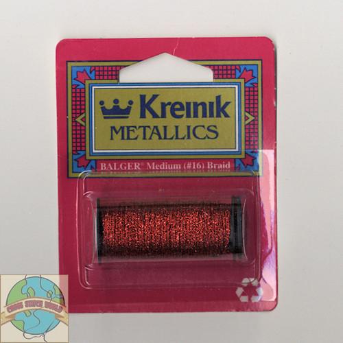 Kreinik Metallics - Medium #16 Red #003