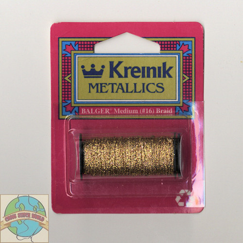Kreinik Metallics - Medium #16 Antique Gold #221