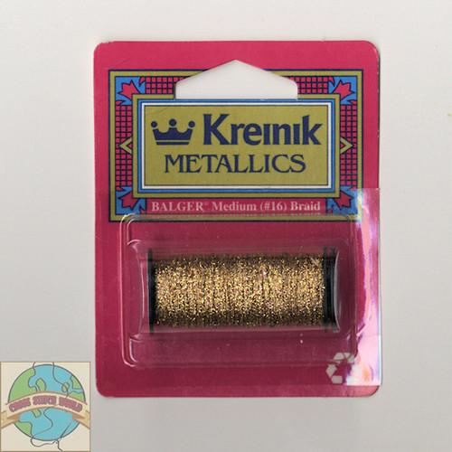 Kreinik Metallics - Medium #16 Antique Gold 221