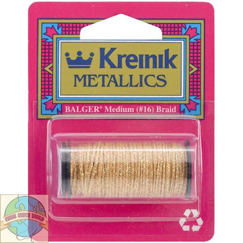Kreinik Metallic Medium #16 Gold (Hi Lustre) #002HL