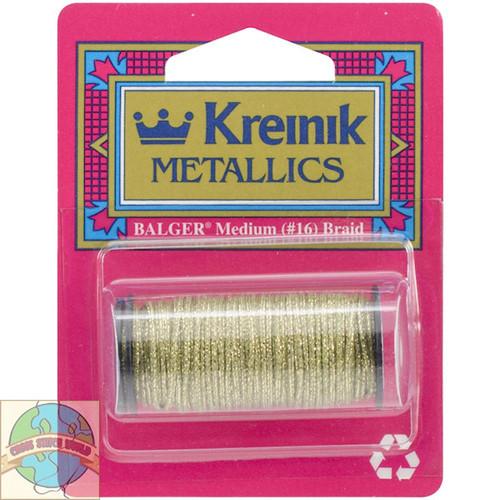 Kreinik Metallics - Medium #16 Golden Olive #5835