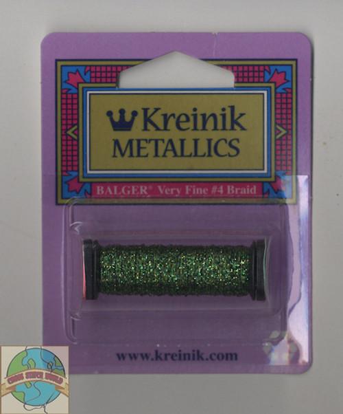 Kreinik Metallics - Very Fine #4 Forest Green #5982