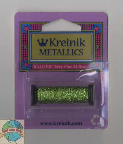 Kreinik Metallics - Very Fine #4 Chartreuse #015