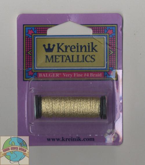 Kreinik Metallics - Very Fine #4 Vatican Gold #102C